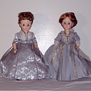Madame Alexander - First Ladies - Series IV - Six Dolls