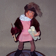 Annalee Mobilitee Doll - Christopher Columbus in Dome