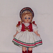 Madame Alexander - International Doll - Hungarian - #0797 Bent Knee