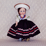 Madame Alexander - International Doll - Mexico # 776 BKW