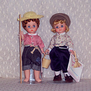 Madame Alexander - Tom Sawyer and Huck Finn - #490 & 491