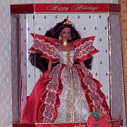 Barbie Dolls - Happy Holidays - 10th Anniversary Edition - 1997
