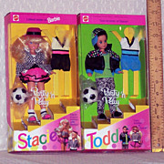 "Barbie Dolls - Todd and Stacie ""Party and Play"" Set - 1993"