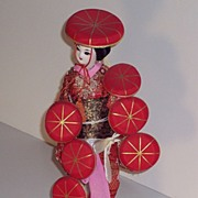 SALE Oriental Doll - Dancer - 11 in.