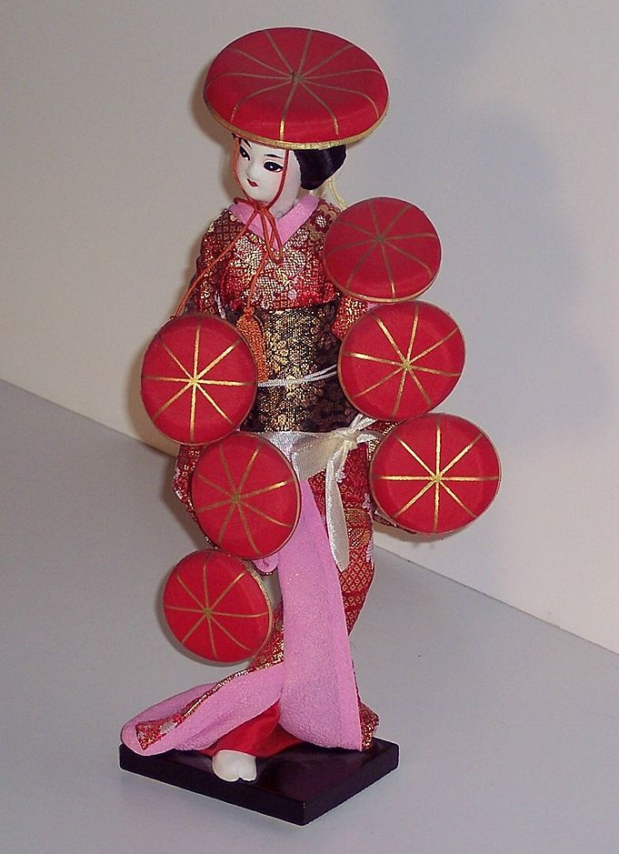 Oriental Doll - Dancer - 11 in.
