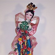 Oriental Doll  by Yu Chu � 14 in.