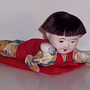 SOLD Oriental Doll - Baby Boy - Porcelain