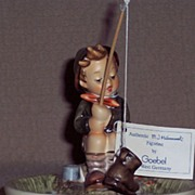 "Hummel Figurine - ""Just Fishing"" TM 6"