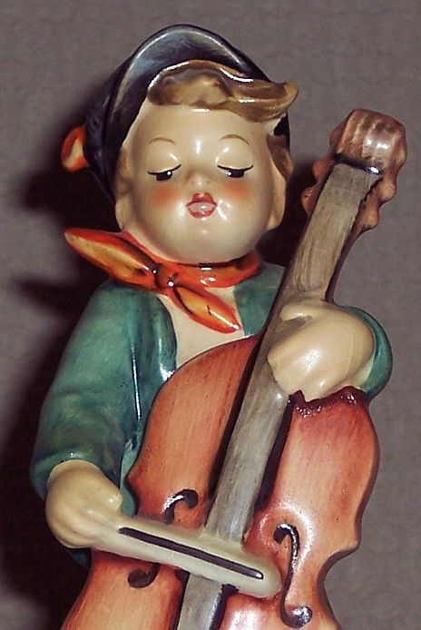 "Hummel Figurine - ""Sweet Music"" # 186, TM3"