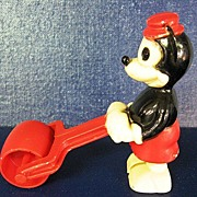 1950's Celluloid Mickey Mouse Ramp Walker