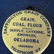 Sappington Grain Company Celluloid Tape Measure