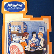 Maytag First Aluminum Washer Advertisement