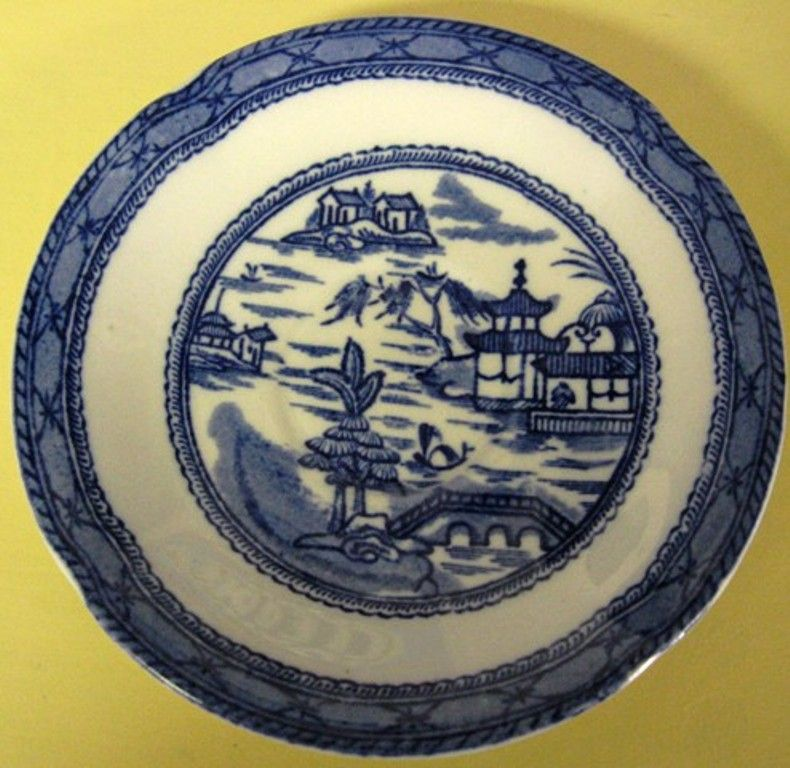 Ashworth Bros. Real Old Canton Saucer