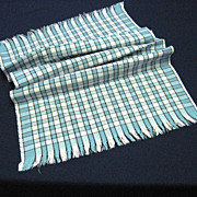 Retro 1950's Fringed Kitchen Towel