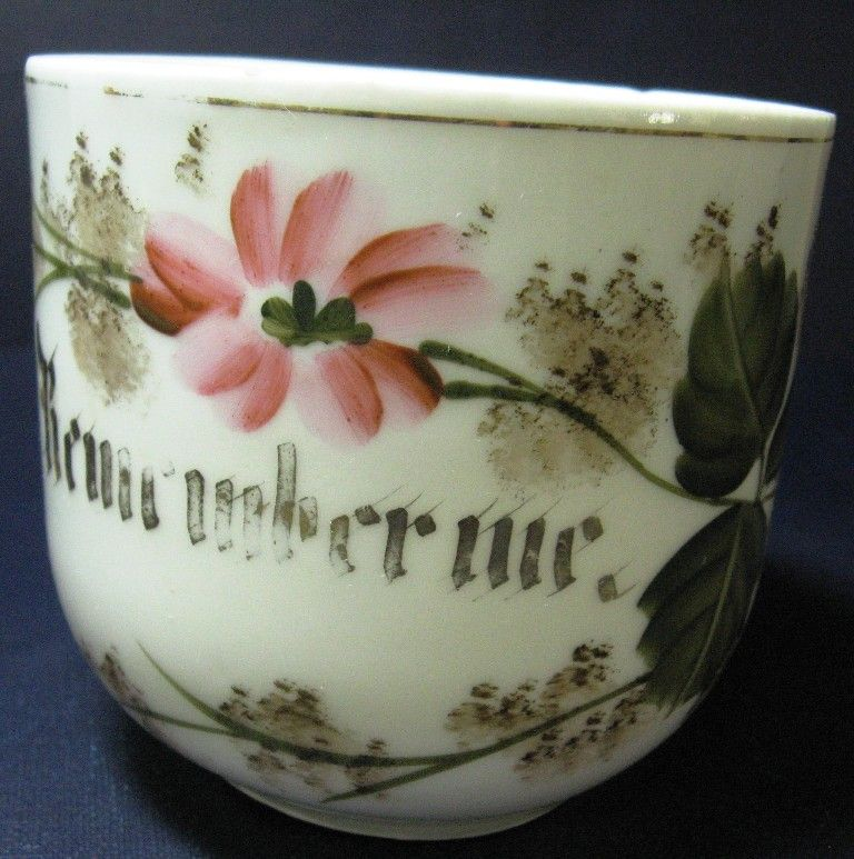 Remember Me Mustache Cup