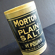 Morton Free Running Plain Salt Container