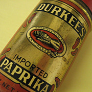 Durkee's Imported Paprika Tin Container