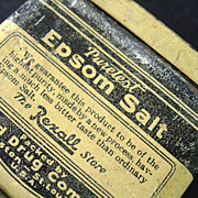 Puretest Epsom Salt Tin Container