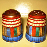 Japanese Porcelain Salt and Pepper Shakers