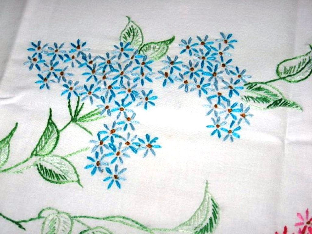 Hand Embroidered Pillowcases  Free Embroidery Patterns