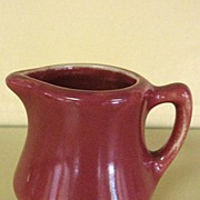 Miniature Hall Dusty Rose Creamer Syrup Pitcher