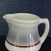 Walker China Restaurant Ware Creamer Syrup Pitcher
