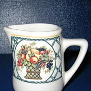 Rego Bountiful Restaurant Ware Creamer Pitcher Jug