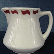 McNicol China Restaurant Ware Creamer Syrup Pitcher