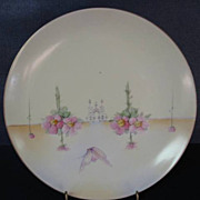 SOLD Hand Painted Cabinet Decorative Plate