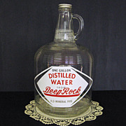Deep Rock Distilled Water Jug