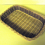 "Wicker Basket for 8"" x 12"" Glass Baking Pan"