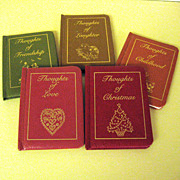 Five Miniature Children's Poetry Books