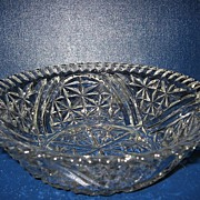 Anchor Hocking Stars & Bars Serving Bowl