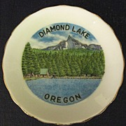 Diamond Lake Oregon Butter Pat