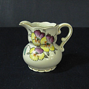 SOLD Made in Occupied Japan Small Ornate Creamer Pitcher