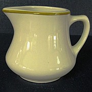 Homer Laughlin Creamer Syrup Pitcher
