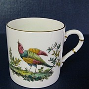 Royal Worcester Small China Mug with Pheasant Design