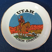 Utah Color Country Souvenir Butter Pat