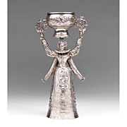 English Sterling Silver Wedding Cup