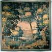 18th C. French Verdure or Garden Tapestry