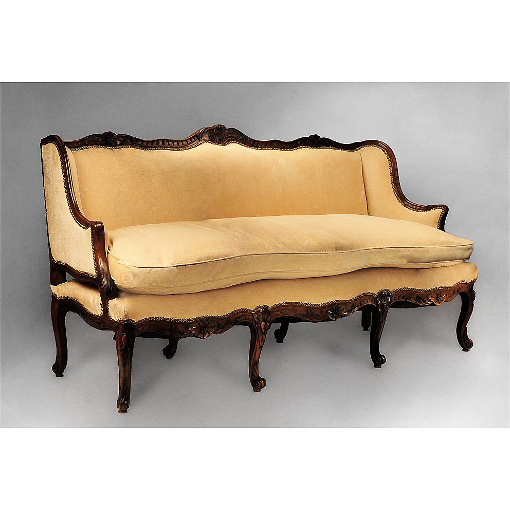 18th C French Provincial R Gence Canape Or Sofa From Piatik On Ruby Lane