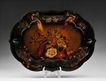 Late 19th C. Hand Painted French Tole Tray