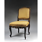 Louis XV Hand Carved Side Chair