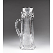 Dominick & Haff American Cut Glass Claret Tankard
