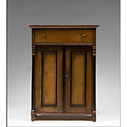 19th C. Empire Salesman's Sample Chiffonier Miniature Chest