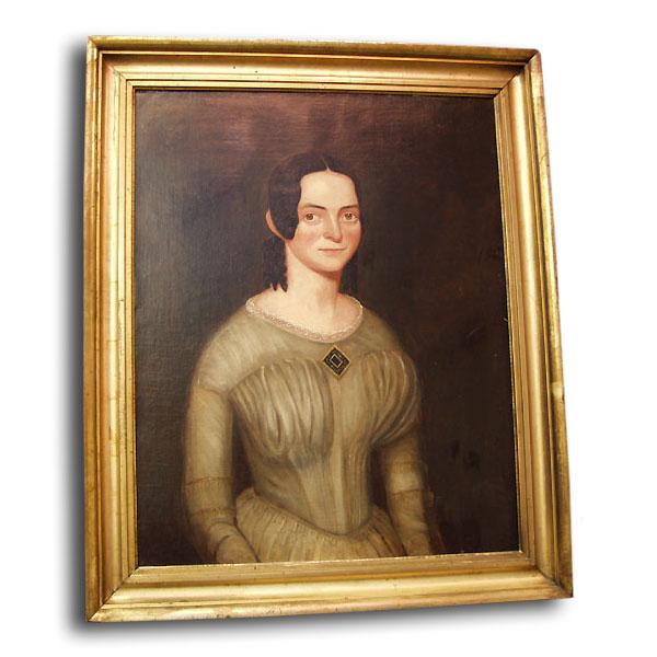 Oil Painting Portrait of Bebe Tresure 1843