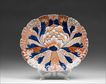 Large Japanese Meiji Period Lobed Oval Imari Platter