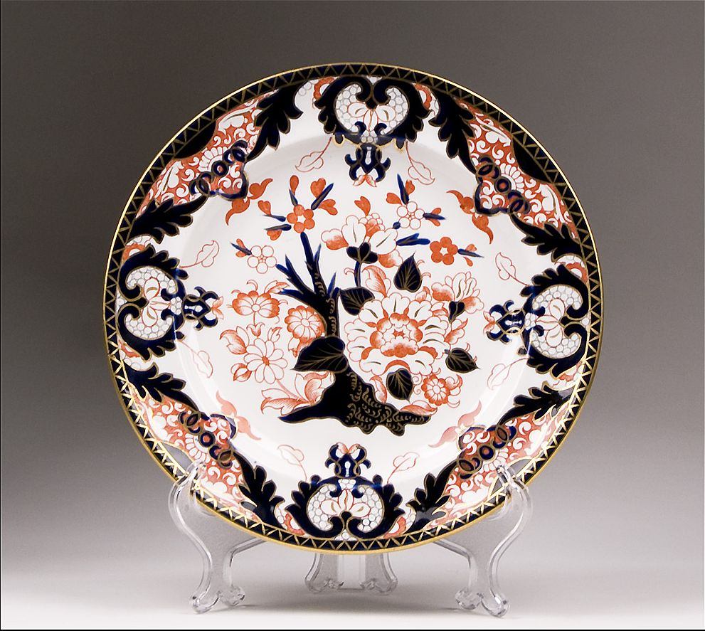 Royal Crown Derby Dinner Plate, Kings Pattern