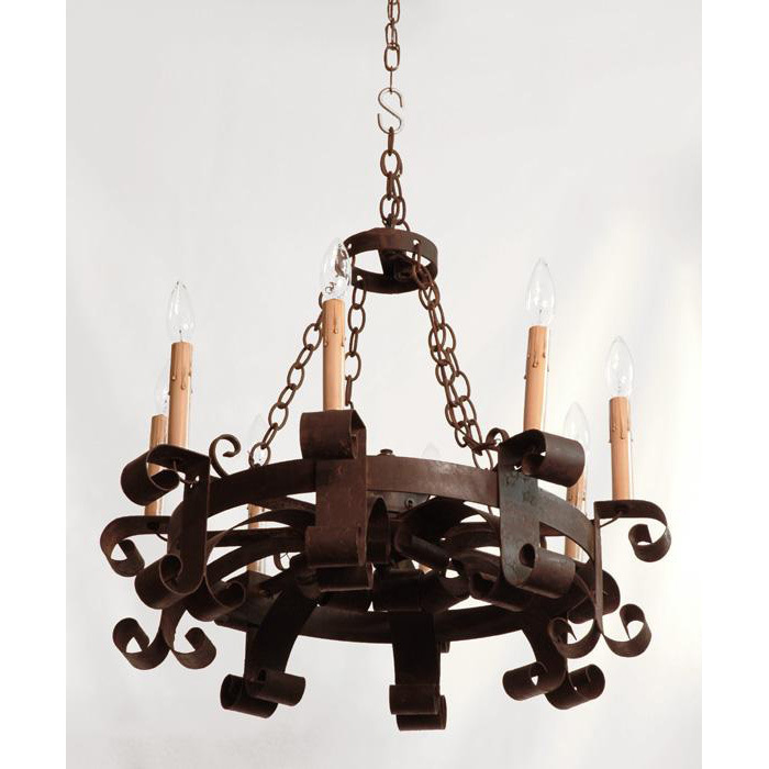 hand forged iron chandeliers  chandelier online, Lighting ideas