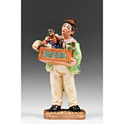Royal Doulton Figurine, The Organ Grinder, HN 2173
